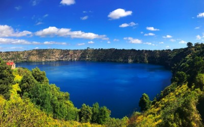 Blue Lake & Caves image