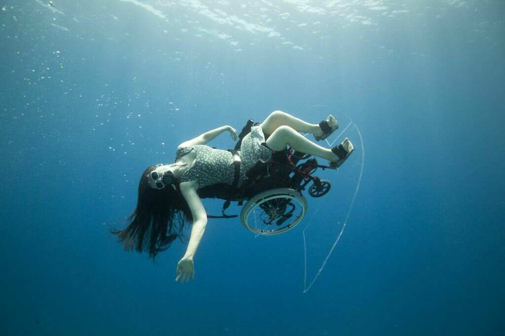 Sue Austin - A most amazing journey deep sea diving in a wheelchair blog image