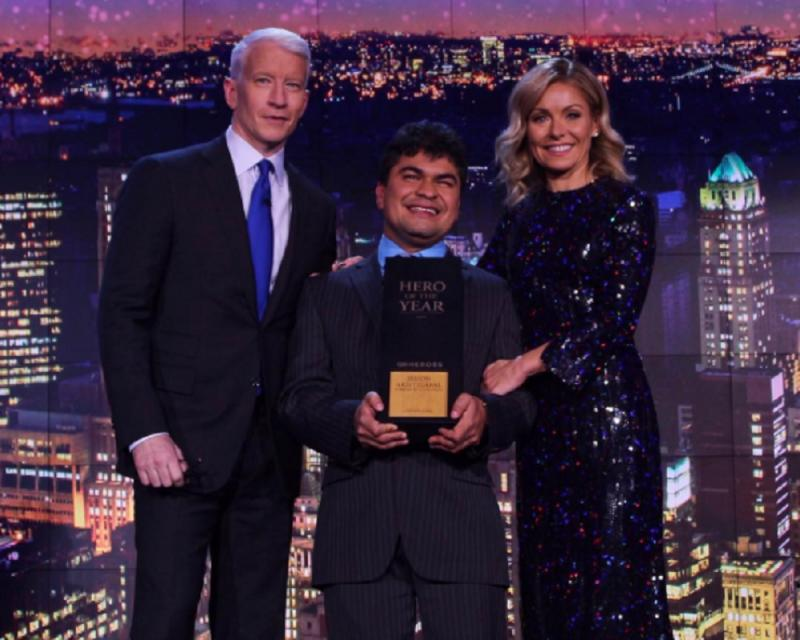 CNN Hero of the Year Jeison Aristizabal Gives a Message of Hope blog image