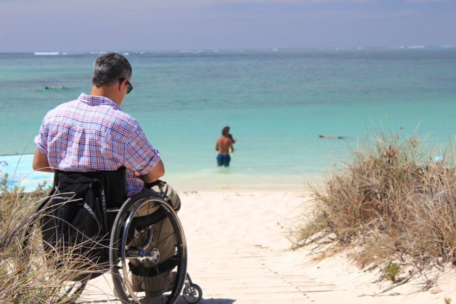 Wheelchair, Holiday, Bea, Disabled, Summer