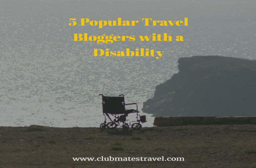 5 Popular Travel Bloggers with a Disability blog image